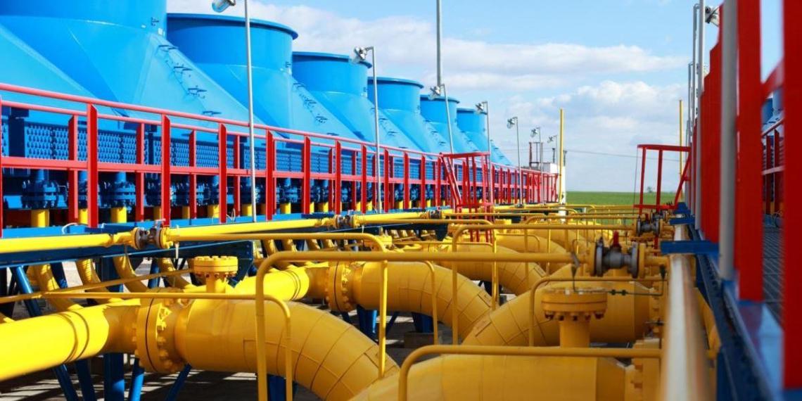 Цена газа в Европе приближается к $600 за тысячу кубометров