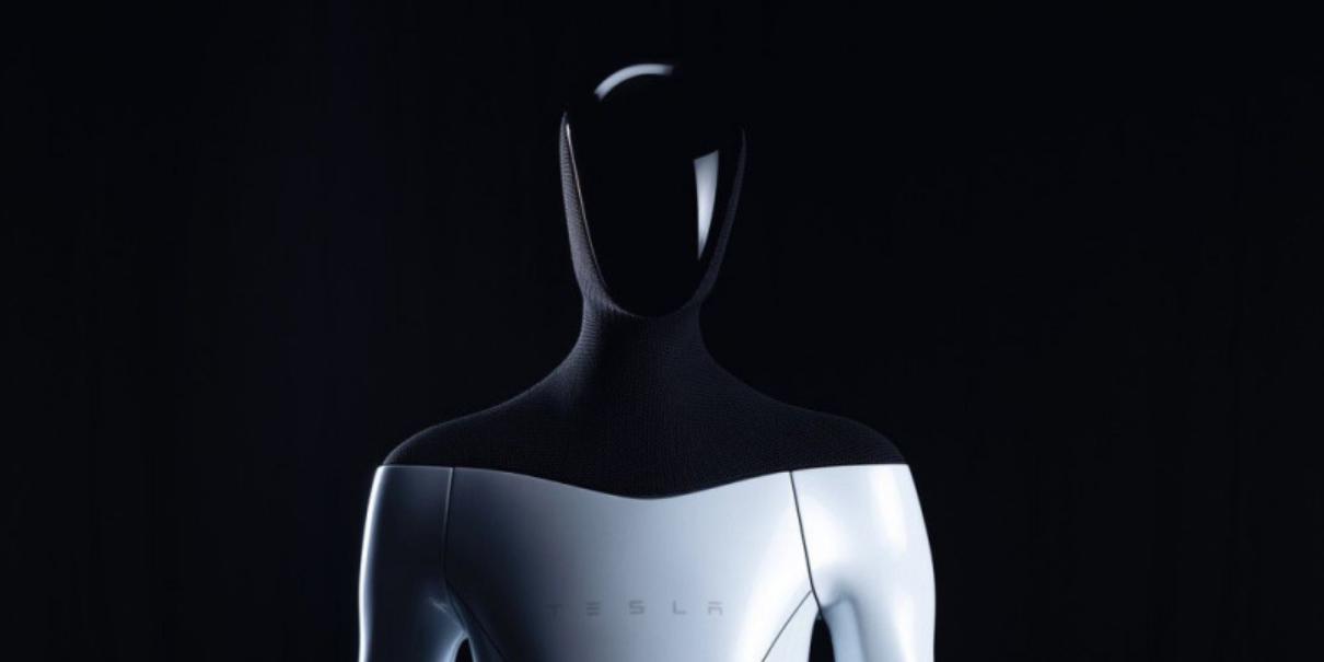 Tesla представила робота-гуманоида
