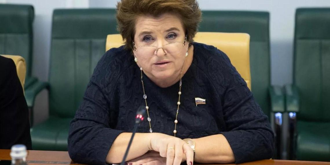 Член комиссии по защите госсуверенитета прокомментировала выступление Путина на ПМЭФ