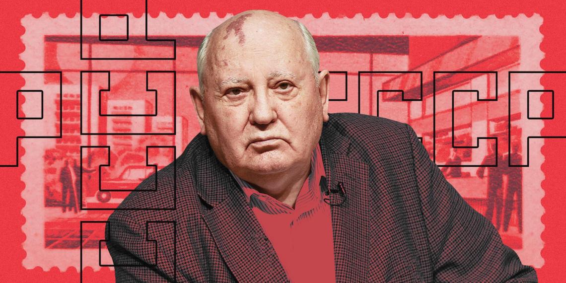 Горбачев тоскует по Союзу. Почему это лучший анекдот дня