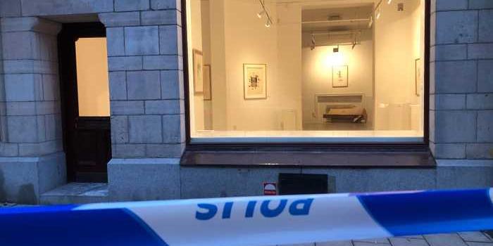 Из галереи в Стокгольме украли дюжину работ Дали