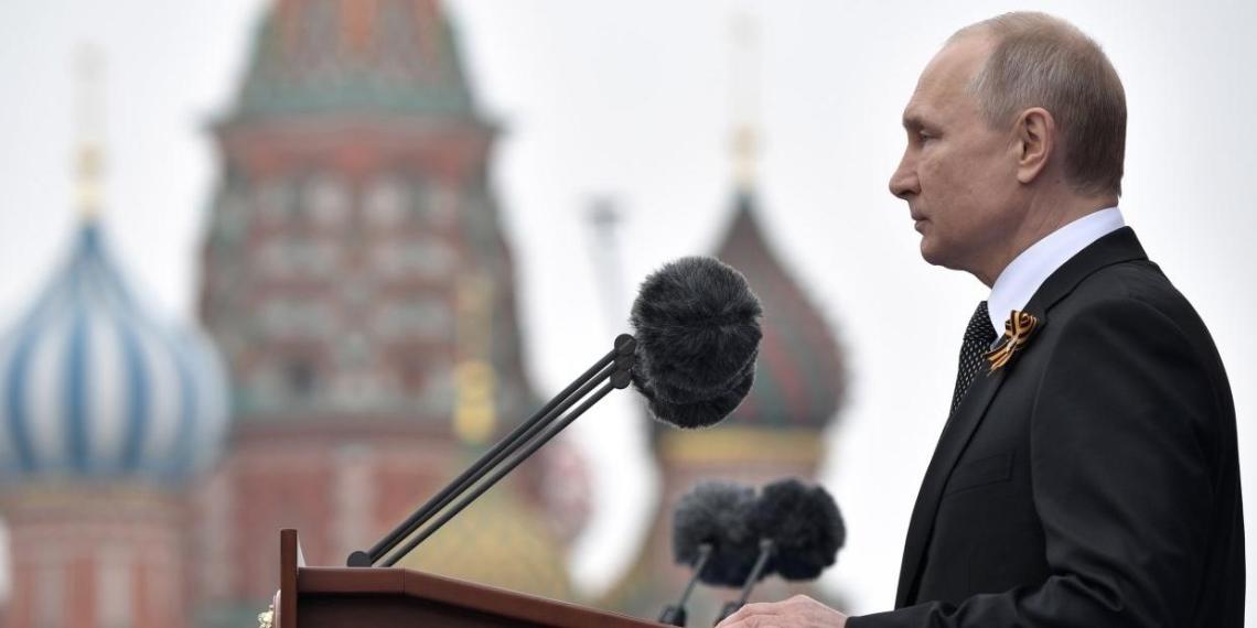 Путин пишет большую статью о Второй мировой войне