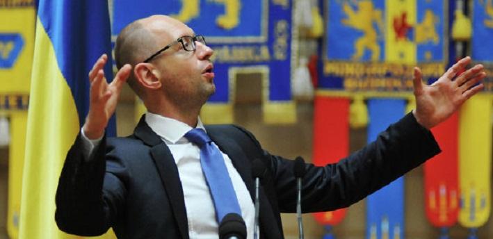 Яценюк будет требовать от России репарации за разрушенный Украиной Донбасс