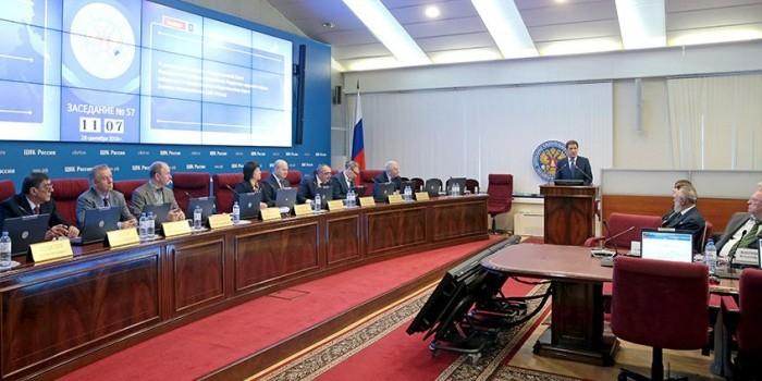 В ЦИК вручили удостоверения депутатам Госдумы седьмого созыва