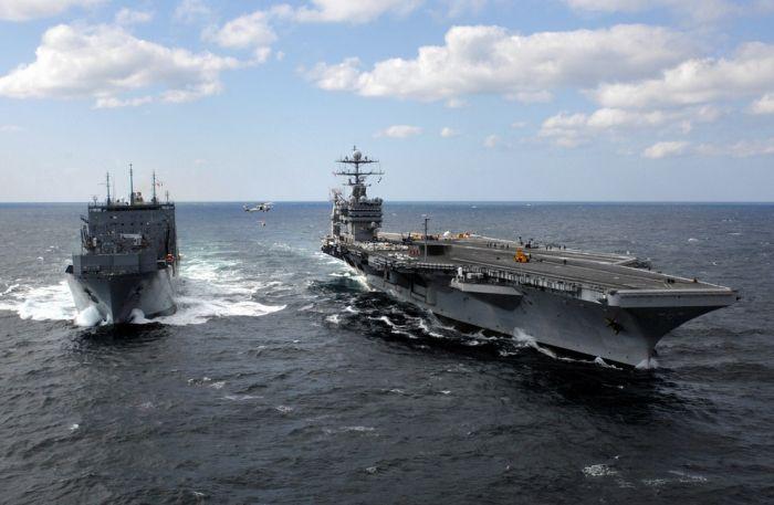 Американец стронций утопил: на Пятом флоте США уронили в океан радиоактивный контейнер