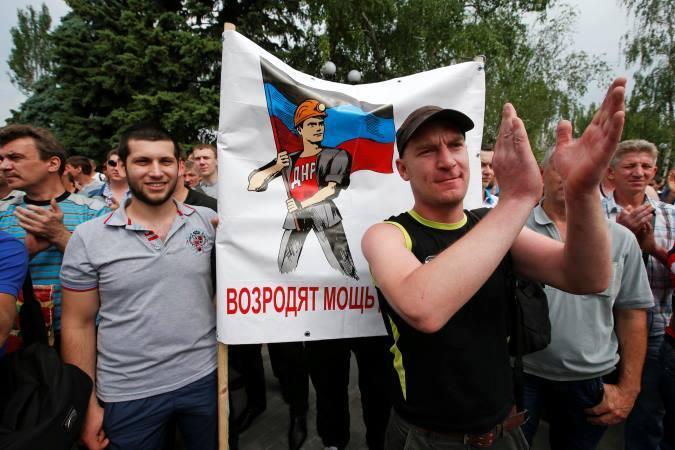 Донецкие шахтеры требуют Киев убрать свои войска из ДНР