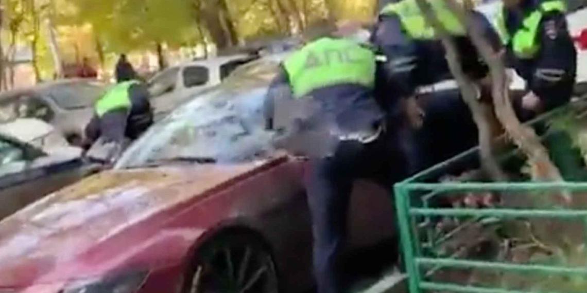 Сына вице-президента МТС задержали после трехчасовой погони в Москве