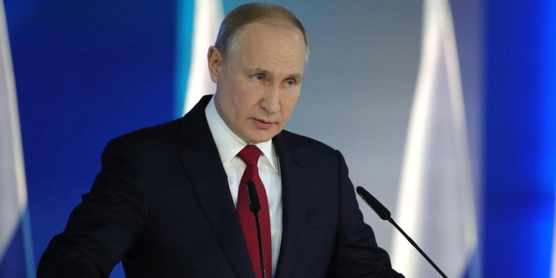 Путин: МРОТ не может быть ниже прожиточного минимума, это нужно закрепить в Конституции