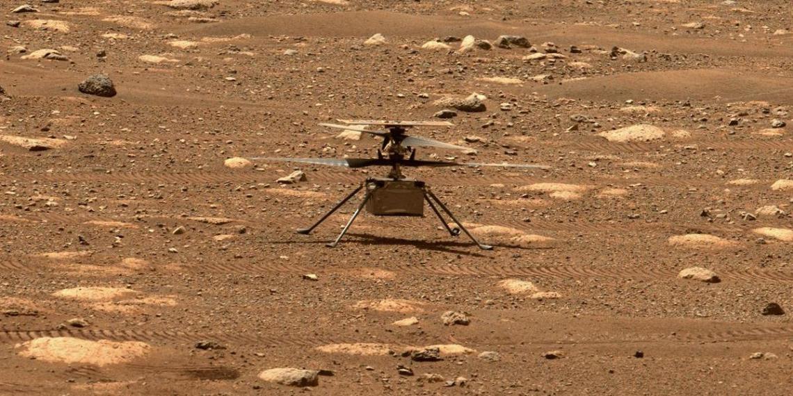 Широко анонсированный полет марсианского вертолета так и не состоялся