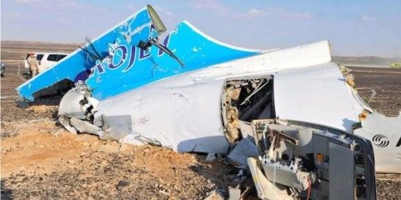 МЧС России опубликовало спутниковые снимки места крушения A321
