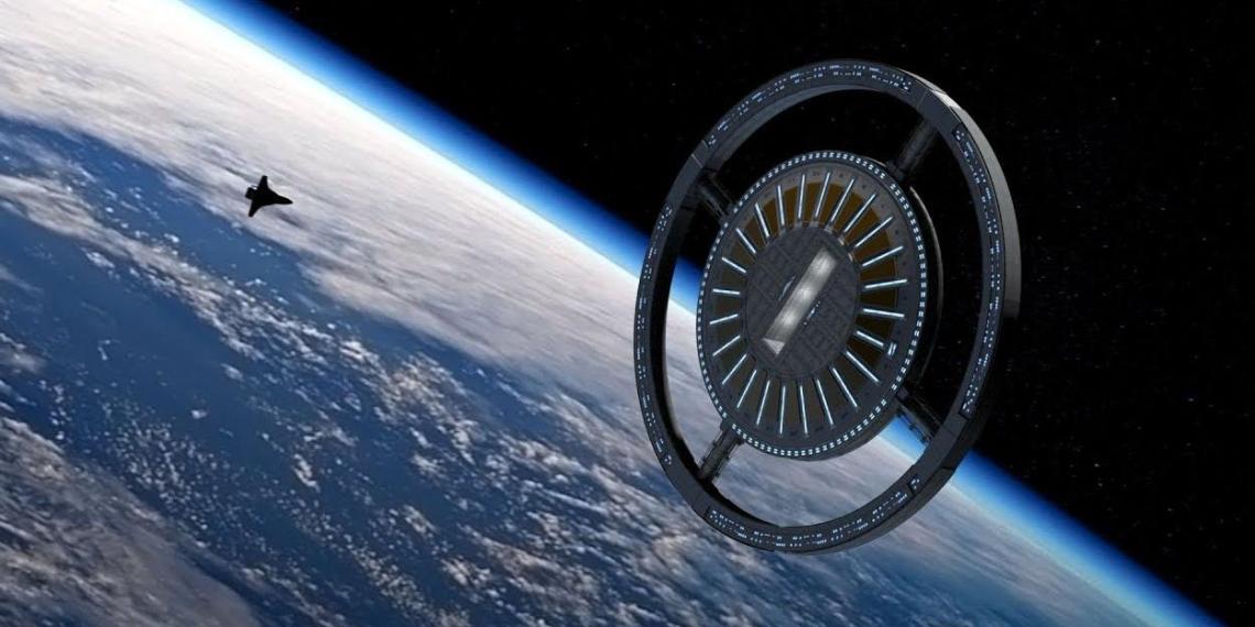 Строительство первого в мире космического отеля планируют начать в 2025 году