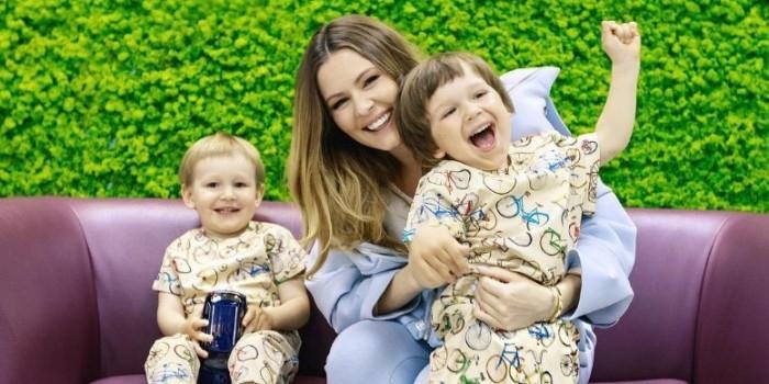 Мария Кожевникова родила третьего ребенка