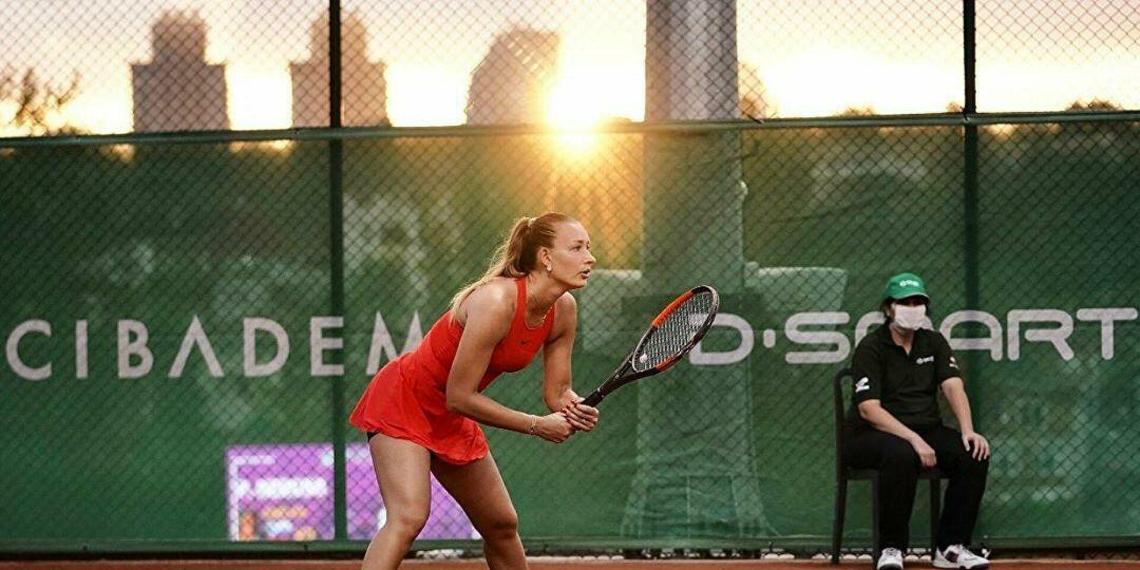 Российскую теннисистку заподозрили в договорном матче на