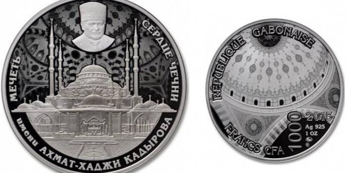 Власти Габона заказали Московскому монетному двору монеты с изображением Кадырова