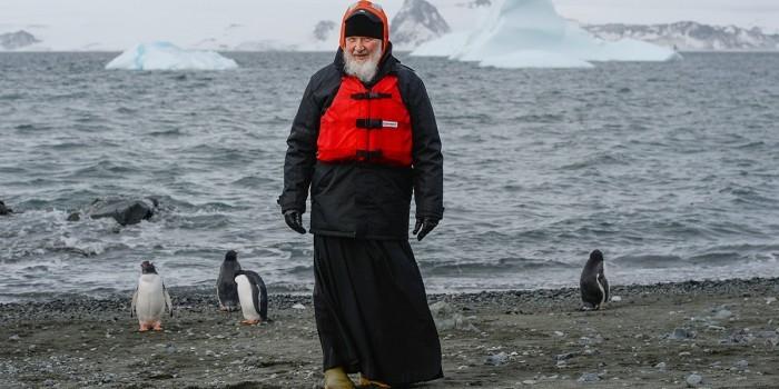 Патриарх рассказал о ЧП по дороге в Антарктиду