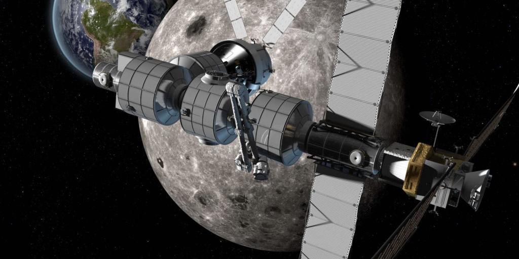 NASA рассчитывает на сотрудничество с Россией по проекту окололунной станции