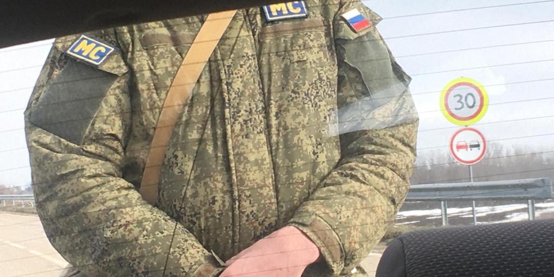 Молдавские журналисты устроили скандал с российскими миротворцами