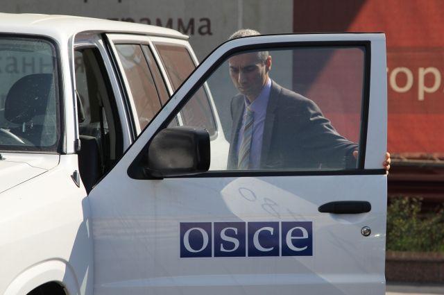ОБСЕ не заметила техники на границе России и Украины