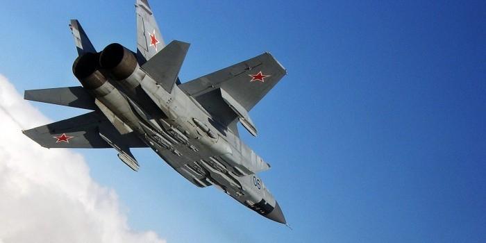 В Бурятии разбился перехватчик МиГ-31