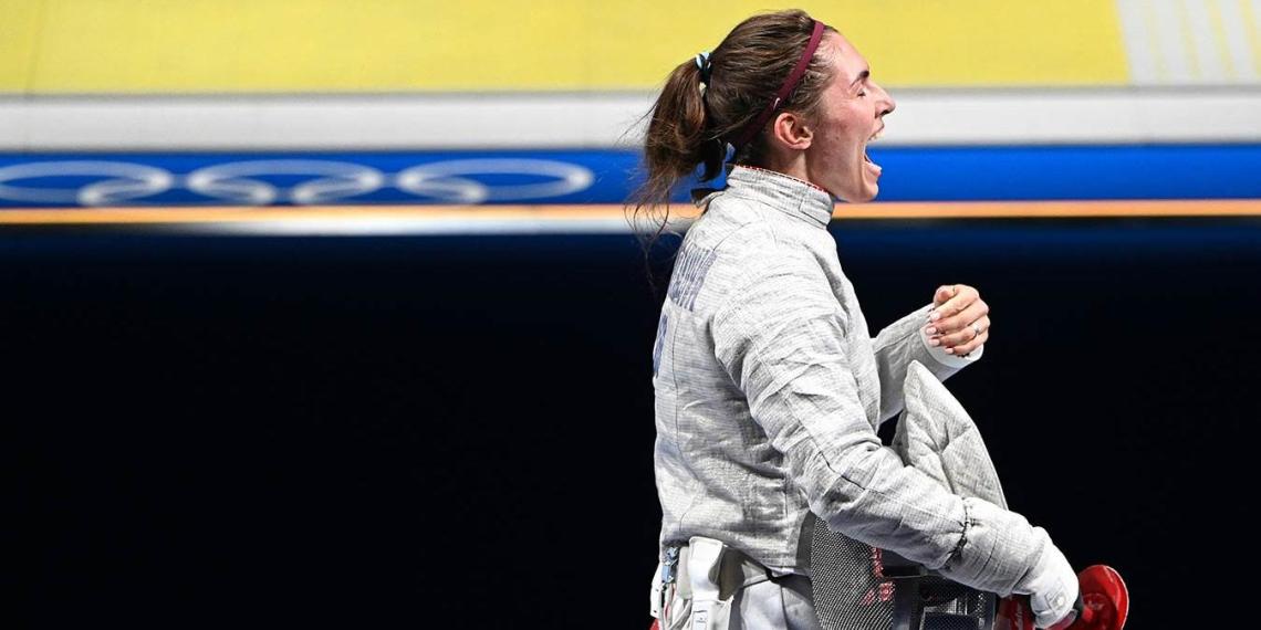 Дочь главы ОКР стала финалисткой турнира саблисток на Олимпиаде
