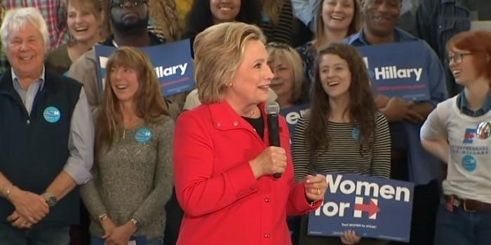 Клинтон облаяла своих оппонентов, чтобы доказать их неправоту