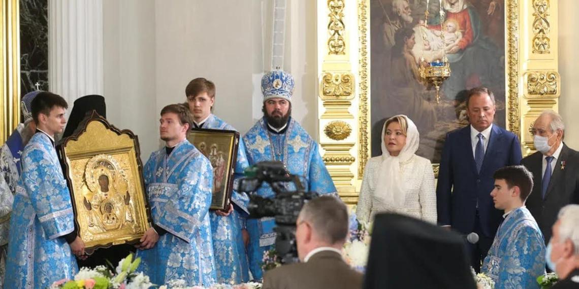 Матвиенко назвала восстановленный в Казани собор символом духовного возрождения