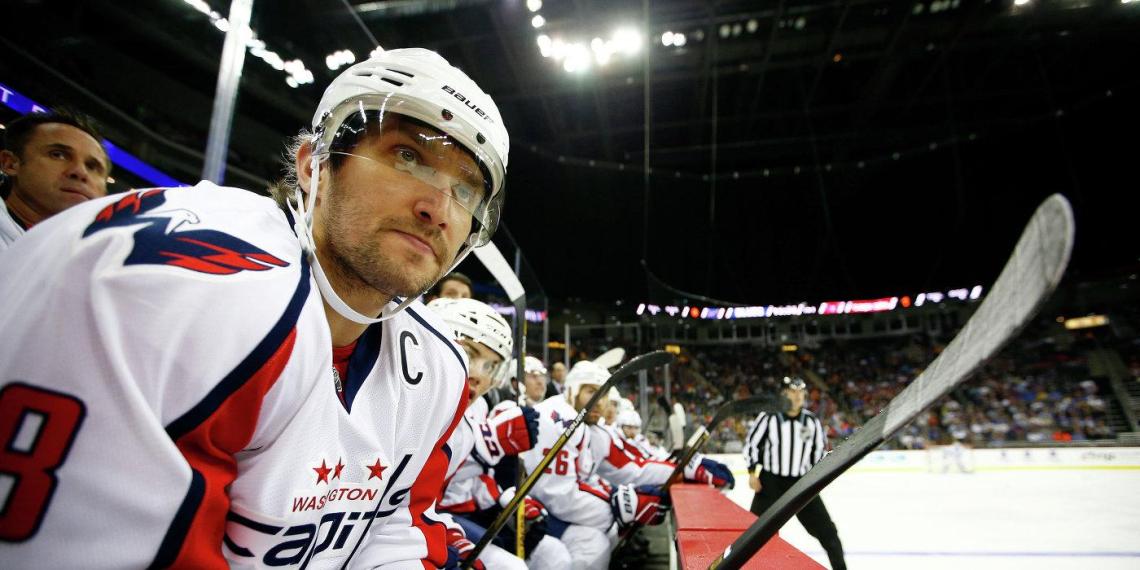 Овечкин оказался самым желаемым собутыльником НХЛ