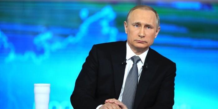 Рейтинг поддержки Путина в ноябре вырос до 82,6%
