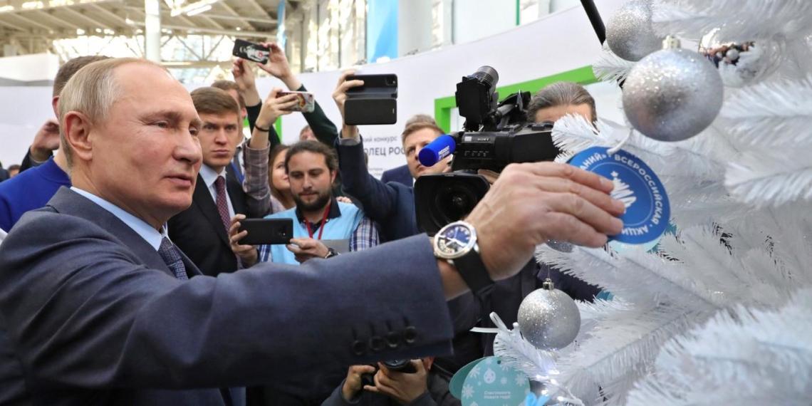 """Текслер последовал примеру Путина и запустил акцию """"Елка желаний"""" в Челябинской области"""