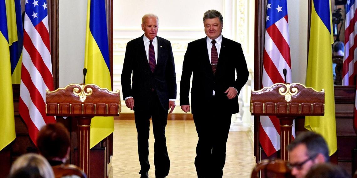 На Украине завели уголовное дело против Байдена