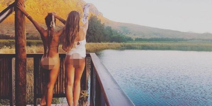 """""""Голозадые туристы"""": пикантный инстаграм стал настоящим хитом интернета"""