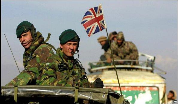 Великобритания отправляет солдат в Ирак