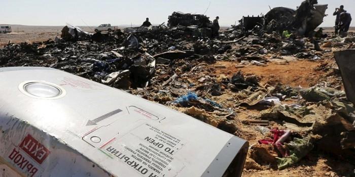 Песков о крушении A321: нельзя исключать теракт