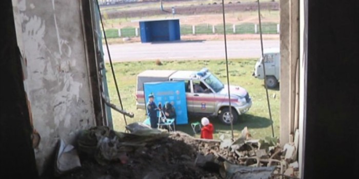 В Хакасии обрушился жилой дом, погиб ребенок