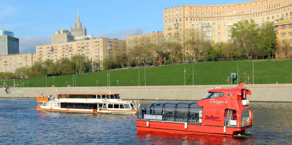 Уже через год в Москве могут появиться электрические речные трамваи
