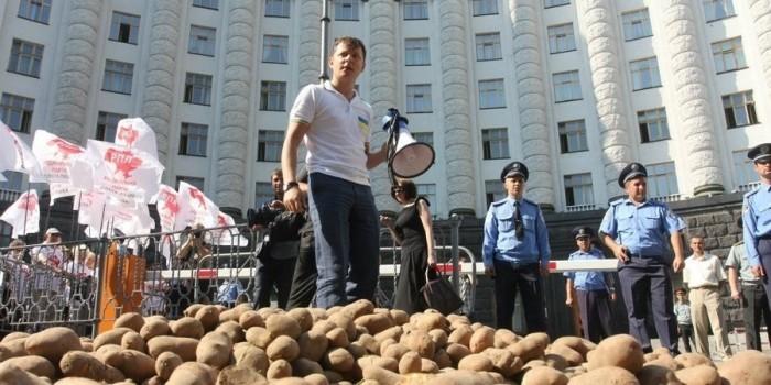 Ляшко похвастался ответом британской королевы на письмо об украинской картошке