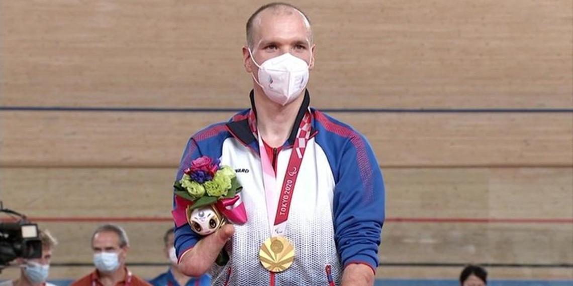Бывший курьер из России установил второй мировой рекорд на Паралимпиаде