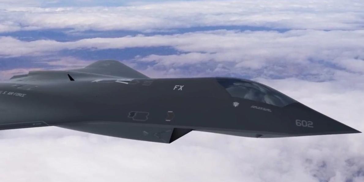 В США опубликовали видео с предполагаемым истребителем шестого поколения