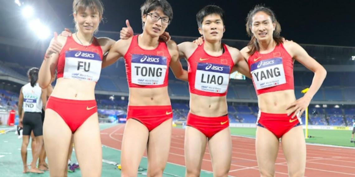 Китайских бегуний во второй раз заподозрили в том, что они бегуны