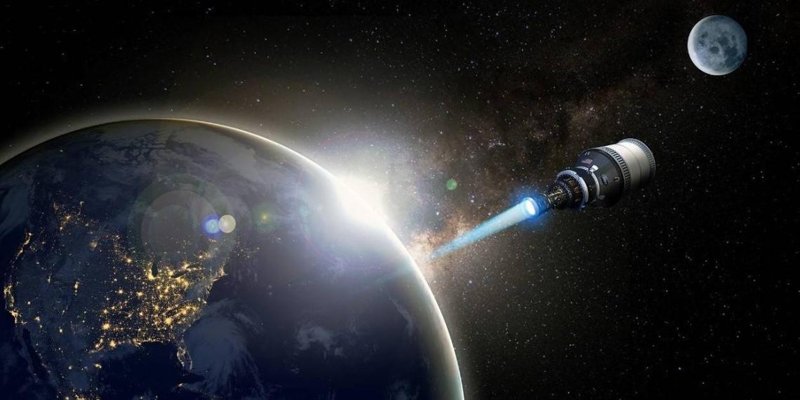В США начали разрабатывать ядерный двигатель для космического корабля