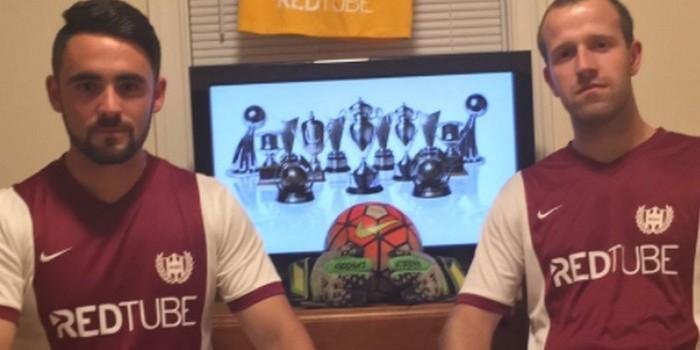 Порносайт RedTube стал спонсором футбольной команды