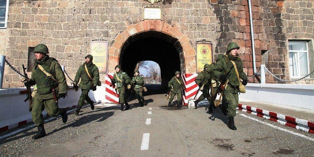 В Армении погиб российский военный