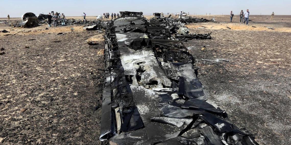 Египет отказался признать терактом крушение А321 над Синаем