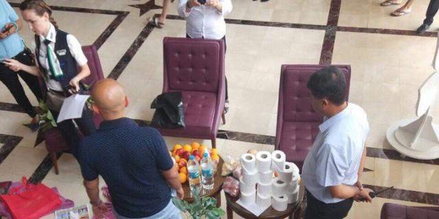 Российский бизнесмен пытался украсть 14 рулонов туалетной бумаги из турецкого отеля