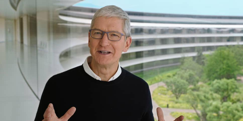 "Глава Apple раскритиковал соцсети за ""подпитку теорий заговора"""