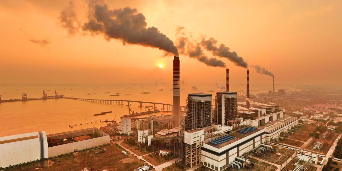 Китай начал торговать квотами на вредные выбросы
