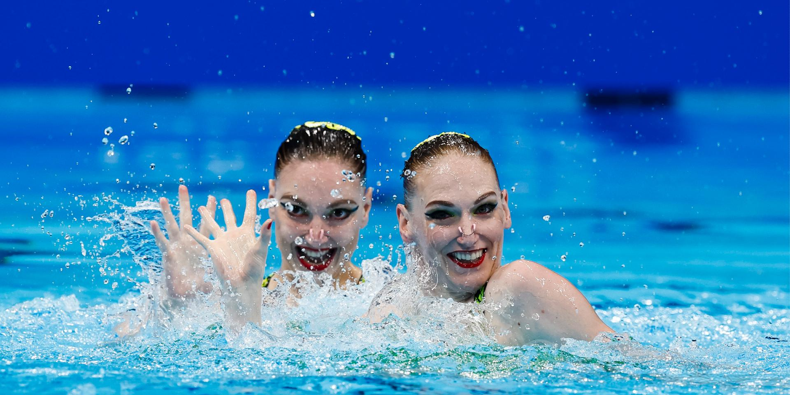 Украинских синхронисток на Играх в Токио представили как россиянок