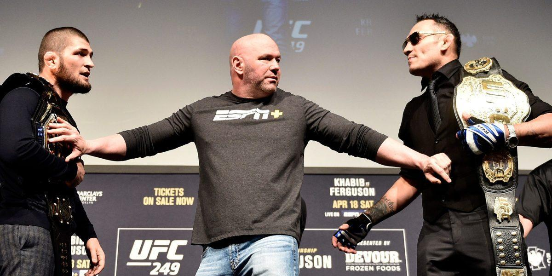 UFC не стал отменять бой Нурмагомедова против Фергюсона, но он пройдет без зрителей