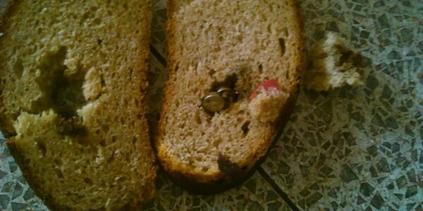 Рязанец купил начиненный батарейками хлеб