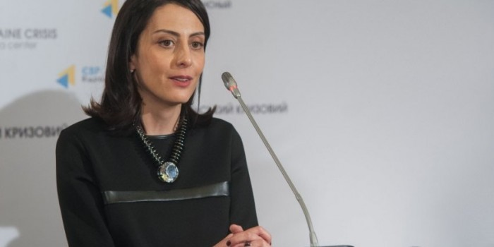 Национальную полицию Украины возглавила экс-министр образования Грузии